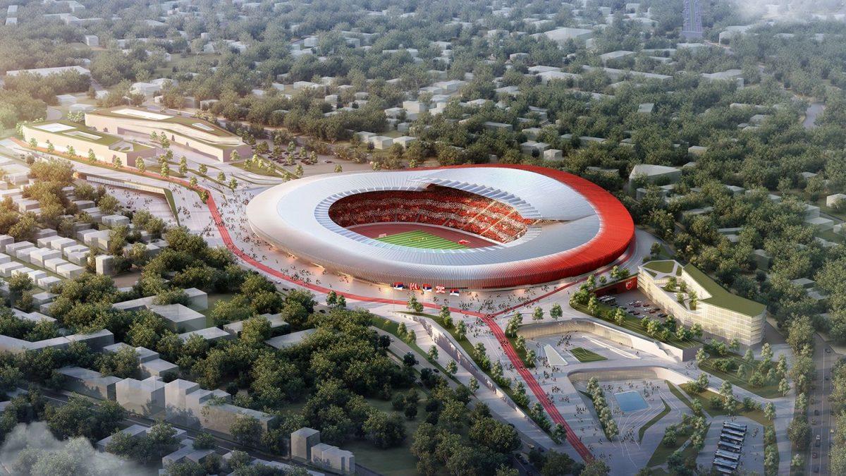 Ovako izgleda pobedničko rešenje na konkursu za stadion Crvene Zvezde
