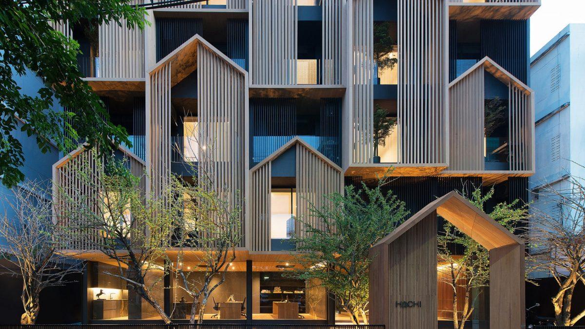 Stambena zgrada inspirisana kućicama