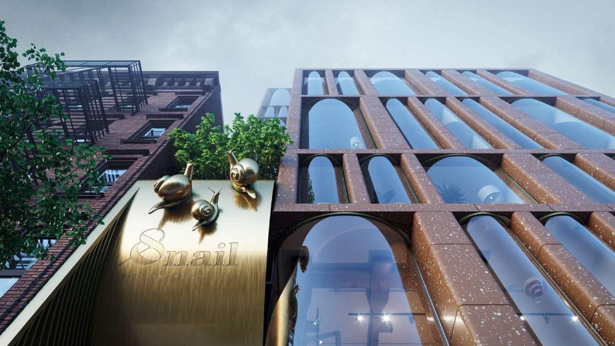 Zgrada zvana Puž usporava tempo života svojim stanarima