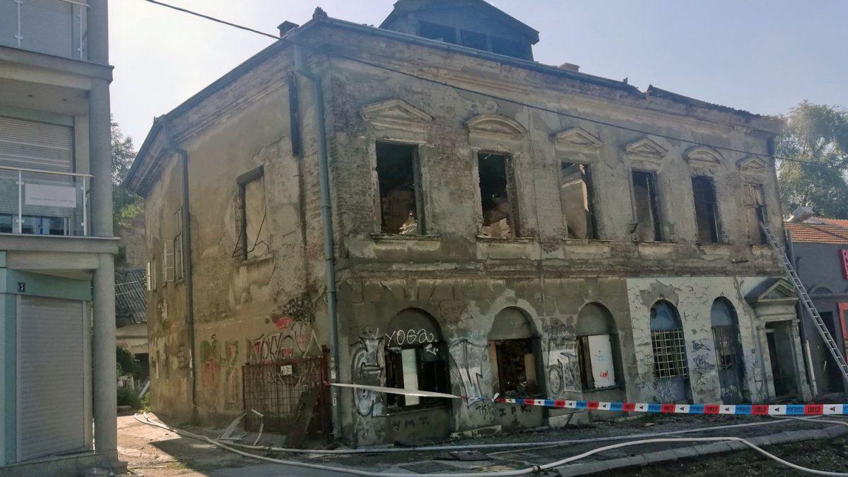 Izgorela kuća Katarine Jovanović