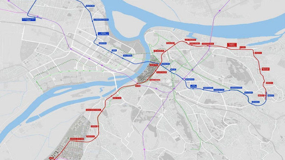 Ovako izgleda finalna trasa beogradskog metroa