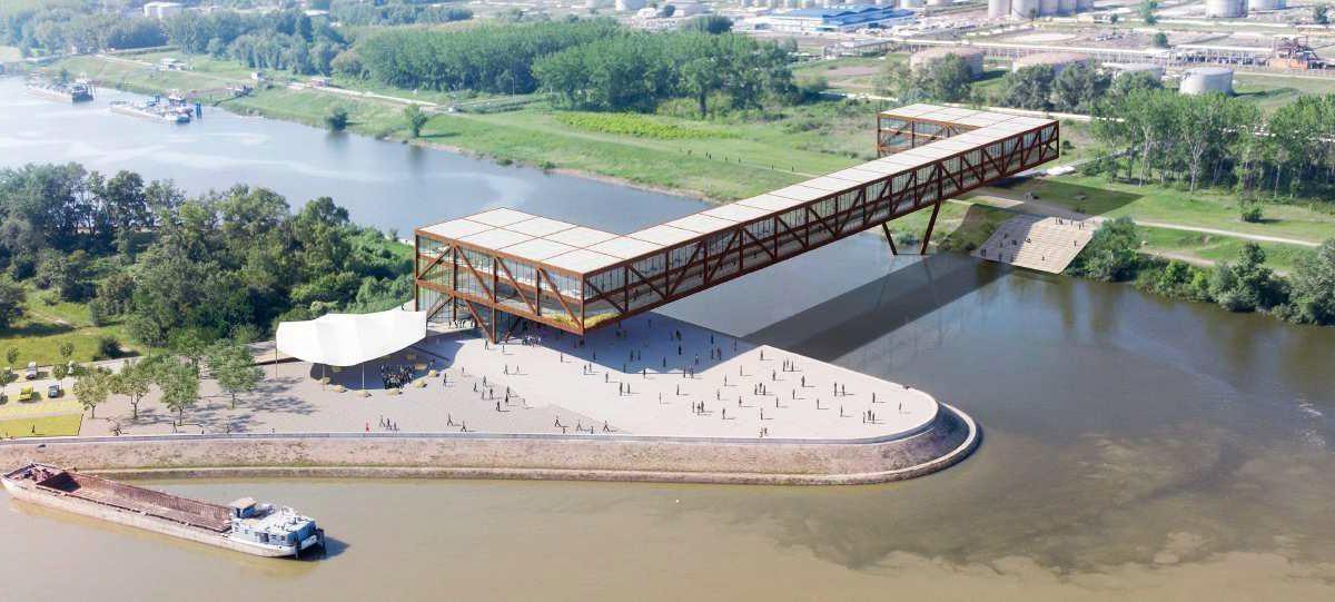 Ovako će izgledati pešački most preko kanala DTD u Novom Sadu