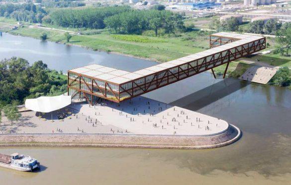 Pobedničko rešenje za novi Most kojeg potpisuje biro ARCVS
