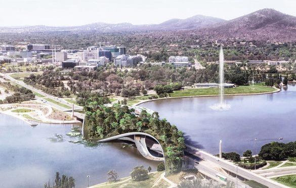 CX Landscape park-most u Kanberi
