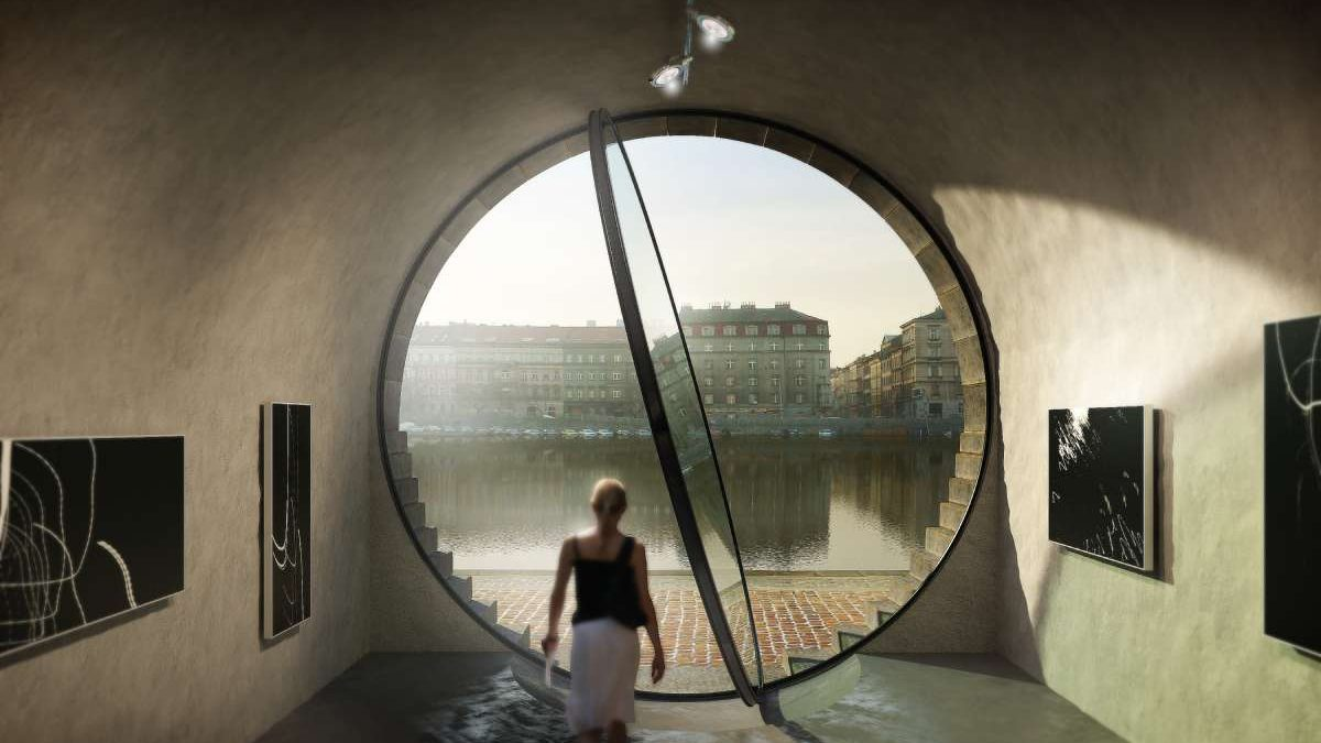 """Revitalizacija priobalja u Pragu s """"trezorima"""", plutajućim bazenima i podvodnim toaletima"""