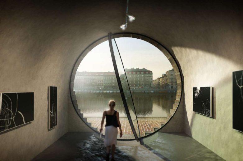 Ovako izgledaju najveća ovalna pivotna vrata od stakla na svetu