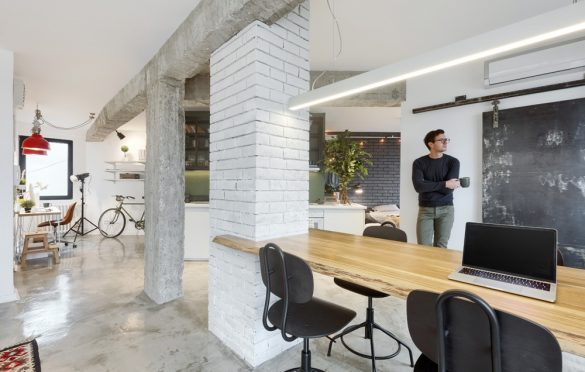 Lemon Tree Apartment, Arhitektura Buđevac (2017); Foto: Andreja Buđevac