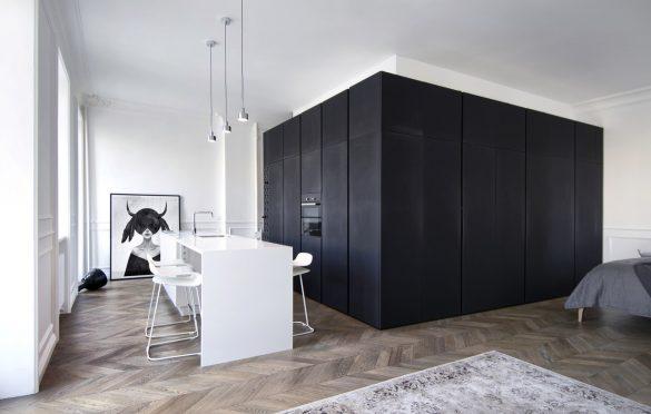 AM Apartment, INT2architecture (2016), Moskva