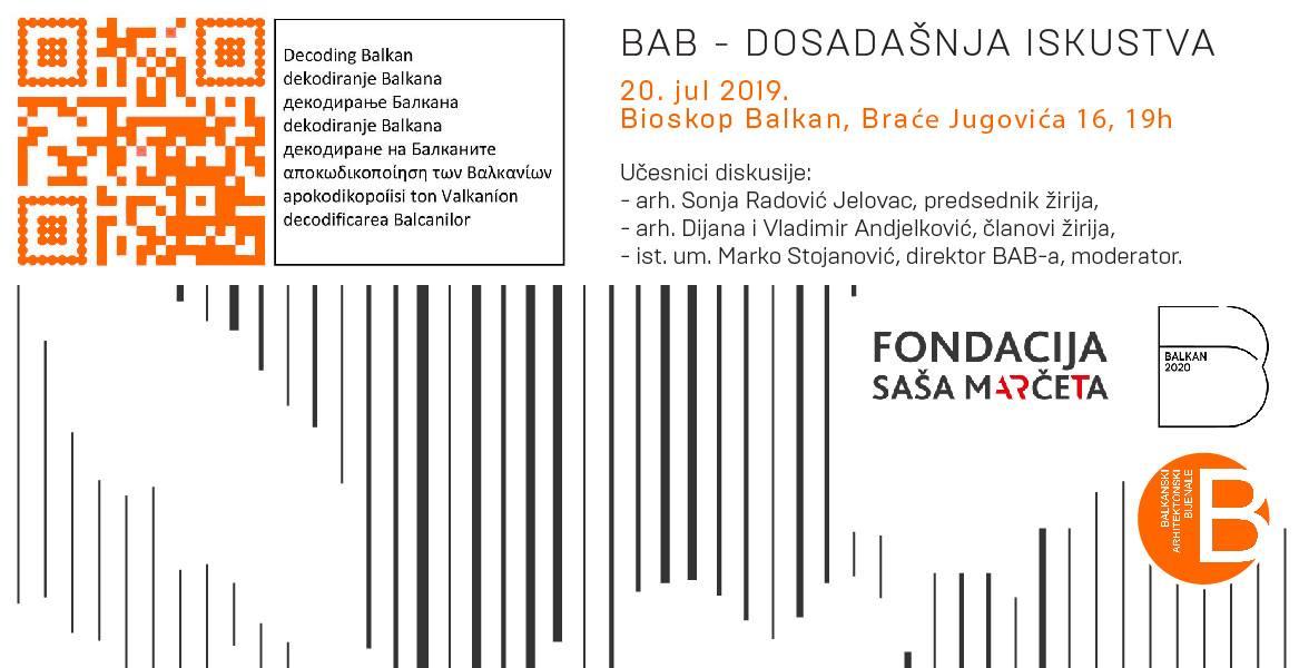 BAB 2019 u Bioskopu Balkan