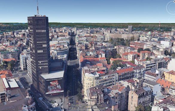 Google Earth Gradnja
