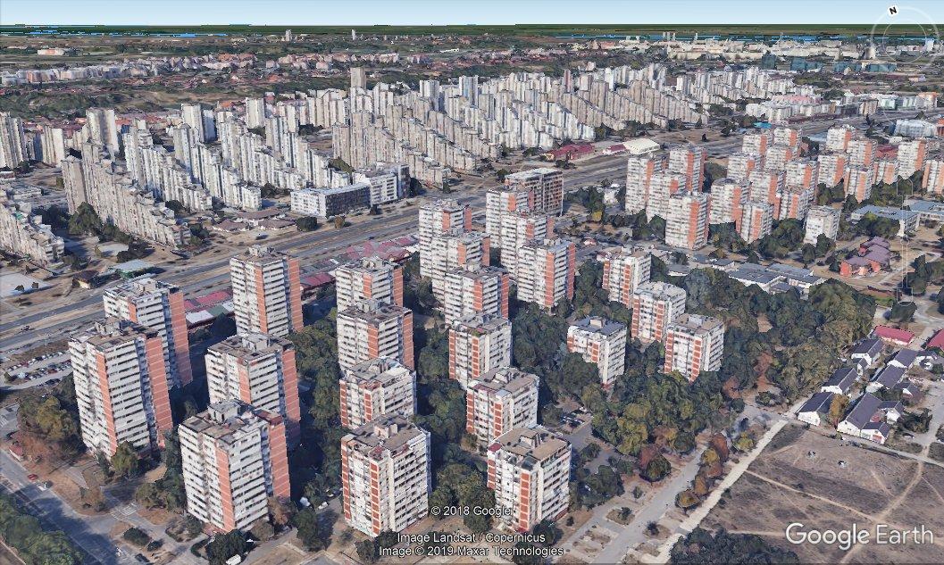 Beograd Zasijao U Punom 3d Sjaju Na Google Earthu