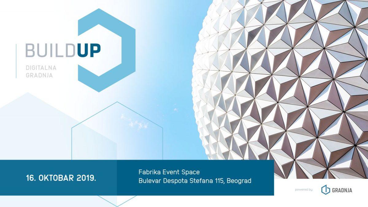 BuildUp 2019: Prva regionalna konferencija o digitalizaciji u arhitekturi i građevinarstvu