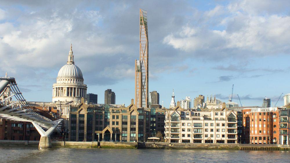 Stručnjaci s Kembridža tvrde da je drvo najpouzdaniji materijal za gradnju solitera (VIDEO)