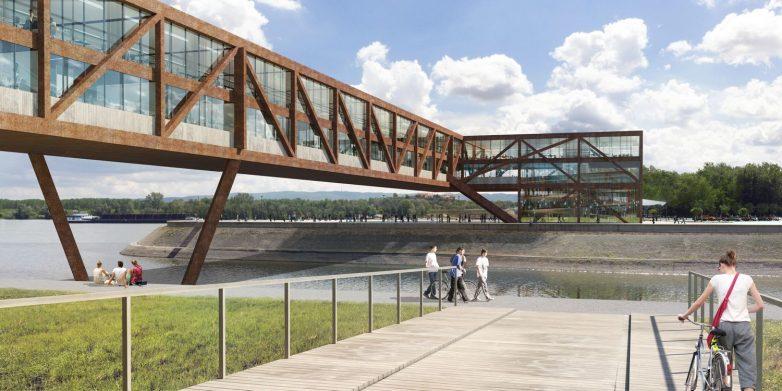 Most na lakat preko kanala DTD po projektu studija ARCVS