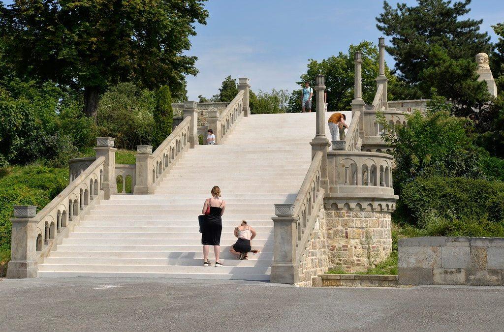 Kako je sanirano Veliko stepenište na Beogradskoj tvrđavi