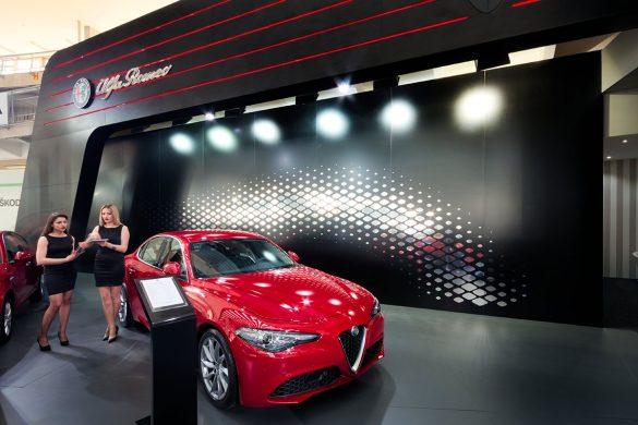 Alfa Romeo sajamski štand