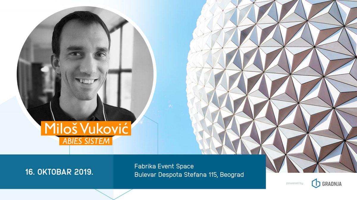 Miloš Vuković: 3D prostorno mapiranje je budućnost tržišta nekretnina