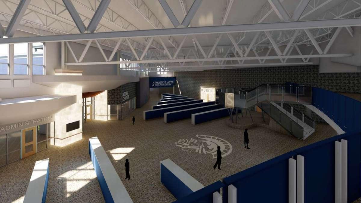 Ova škola projektovana je tako da se smanji broj žrtava u slučaju oružanog napada