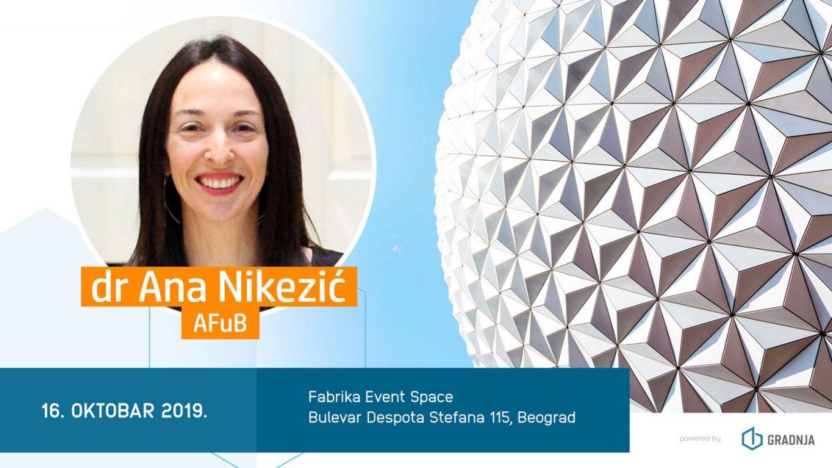dr Ana Nikezić: Tehnologija, čovek i arhitektura postaju jedno