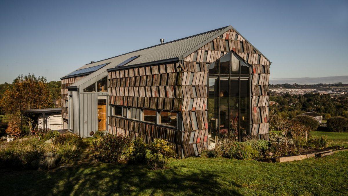 Ništa se ne baca! Ovako izgleda reciklirana kuća u Čileu