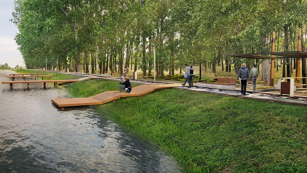 Kako će izgledati uređena obala Velikog bačkog kanala u Vrbasu