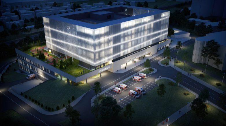 Zgrada će svetleti poput lampiona; Foto: Kancelarija za upravljanje javnim ulaganjima