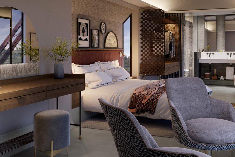 Sobe će biti uređenje u stilu Južne Afrike