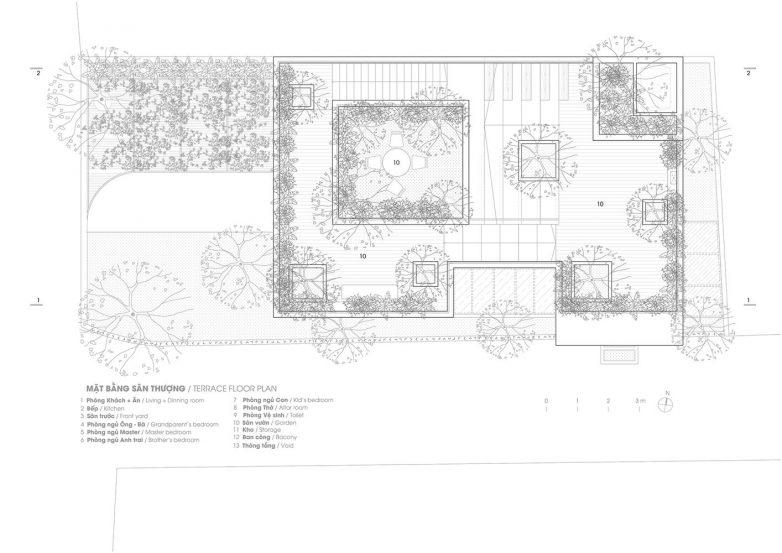 Osnova krovne terase
