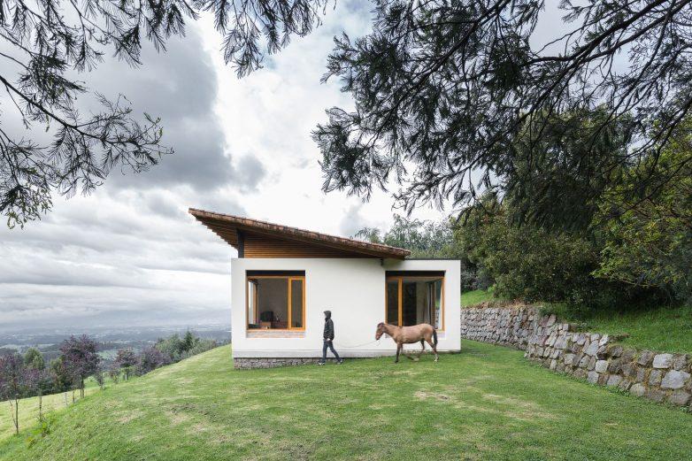 Sve u ovoj kući je podređeno pogledima; Foto: Juan Alberto Andrade
