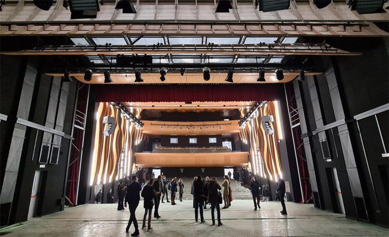 Velika koncertna dvorana u Muzičkoj i Baletskoj školi u Novom Sadu; Foto: Gradnja.rs