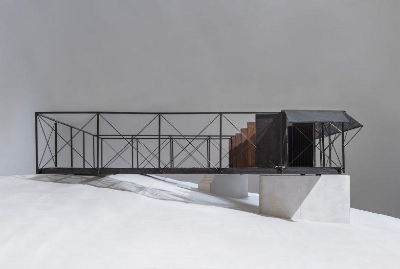 Četvrta terasa se može pretvoriti u prostor zatvorenog boravka; Foto: Miloš Martinović