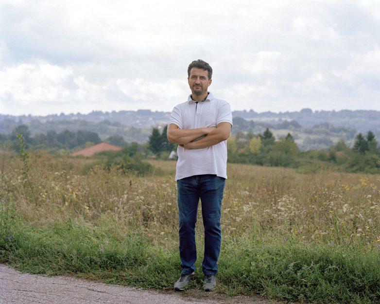 Zoran Spasojević - klijent i glavni izvođeč; Foto: Maxime Delvaux