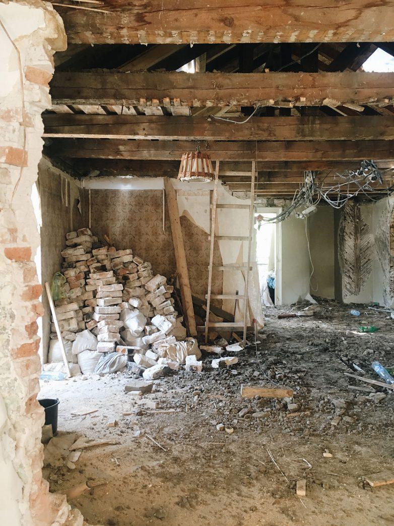 U izgradnji vile korišćena je opeka velikog formatu; Foto: Damir Krdžović