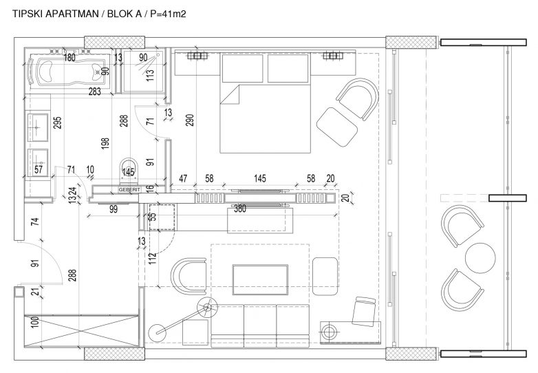 Tipski apartaman A Blok
