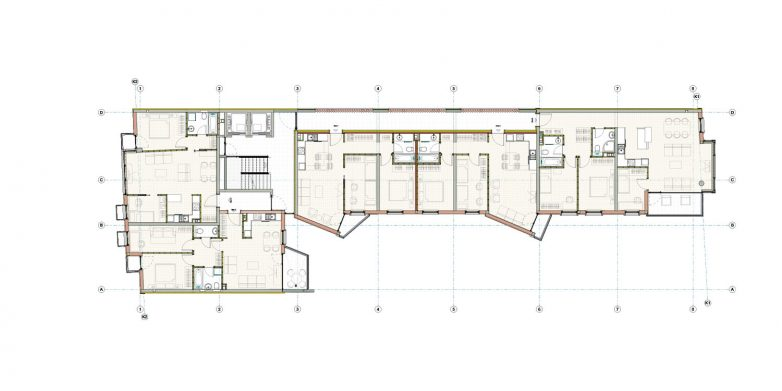 Osnova tipične etaže