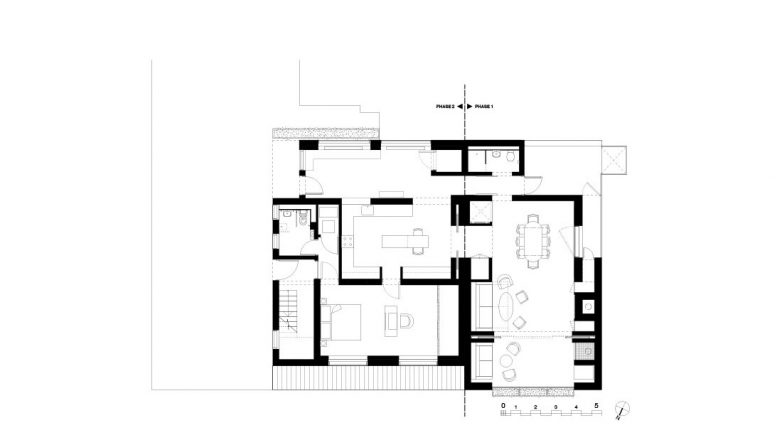 Osnova novoprojektovanog prostora