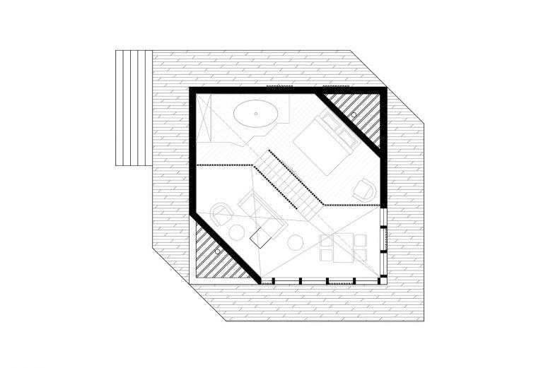 Galerija drvene montažne kuće