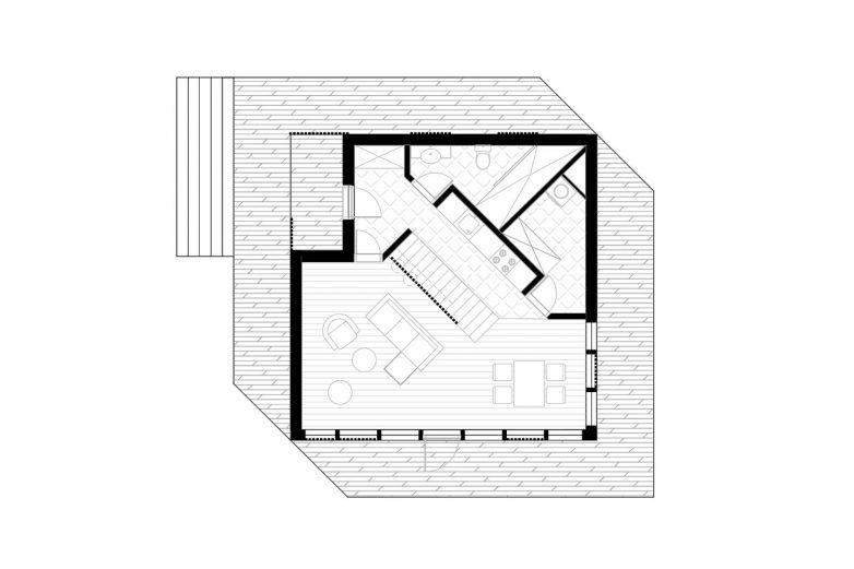 Osnova drvene montažne kuće