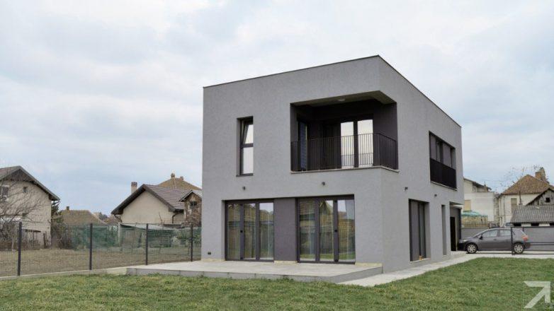 Kuća u Železniku nam skreće pažnju da je dobra arhitekture, pre svega, stvar dobrih proporcija; Foto: M. Zindović