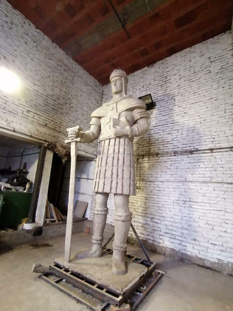Novi spomenik despotu Stefanu; Foto: Facebook