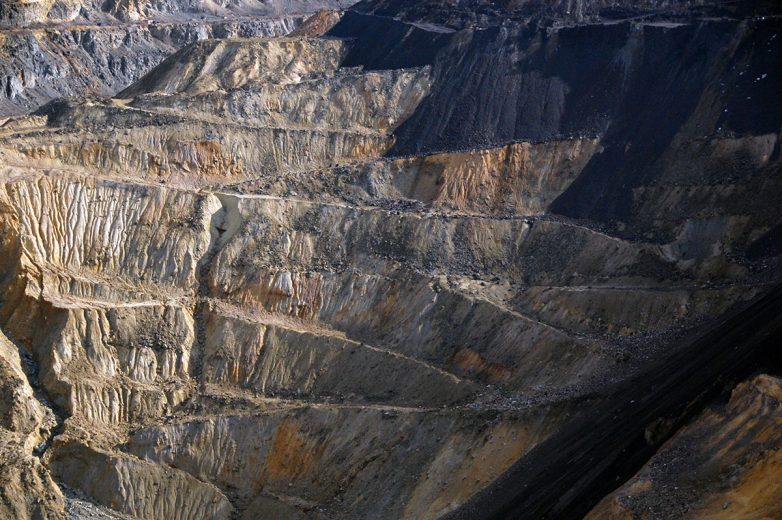 Otvoreni rudni iskop; Foto: Hristina Stojanović