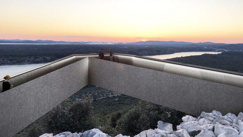 Betonska konzola omogućiće sjajan pogled u 360 stepeni; Foto: NFO
