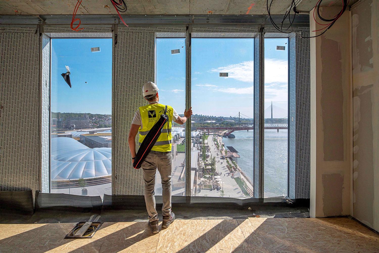 Raport s gradilišta: Kako se gradi najviša kula u Beogradu