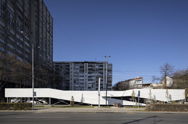 Fast-park garaža u centru Niša; Foto: Mladen Jovanović